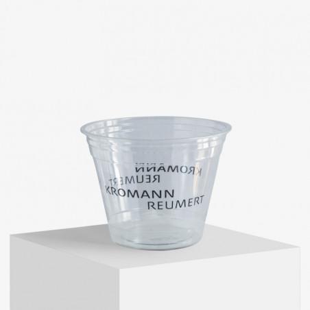 250 ml. plastikkoppet med logo
