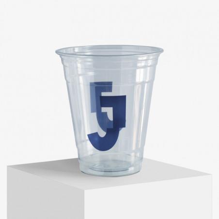 Plastikkopper med logo trykk