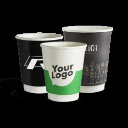 Dobbeltlag pappkrus med logo