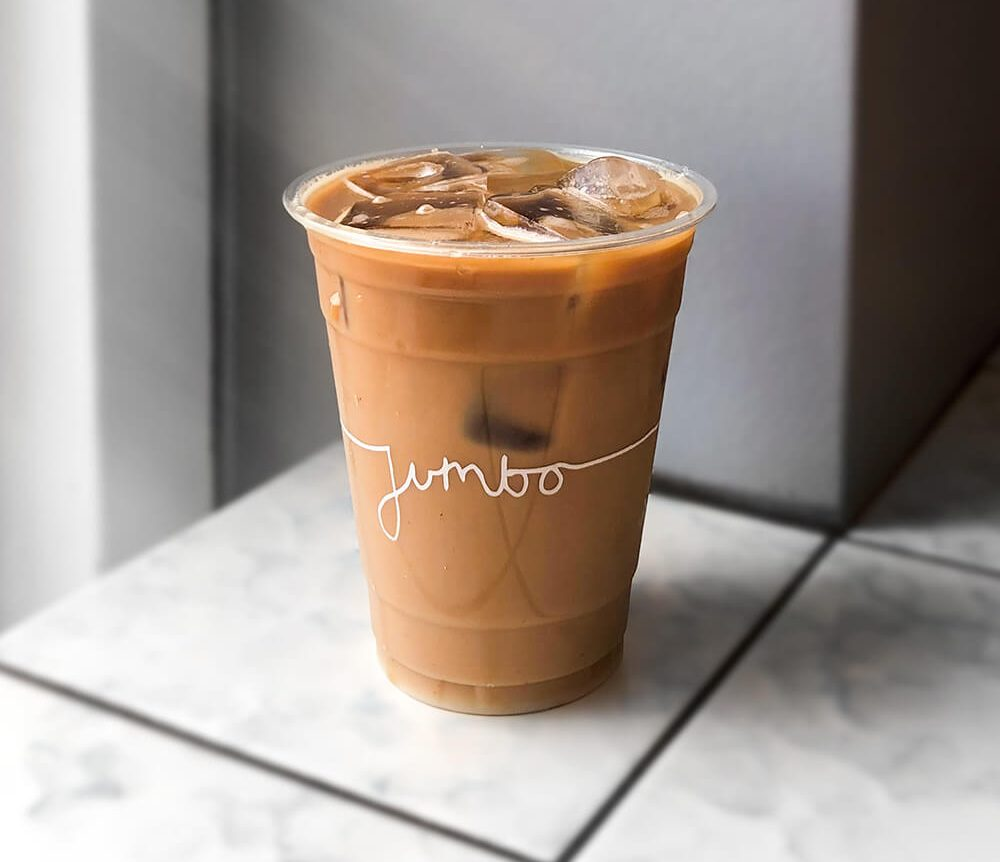 limepack plastic cup for jumbo coffee